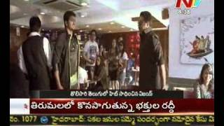 Thuppakki - Vijay celebrating thuppaki success in tollywood