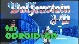 Wolfenstein 3D for ODROID-GO