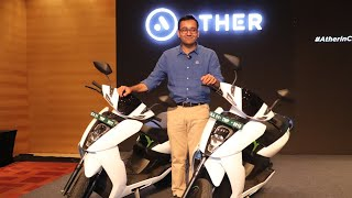 Ather Energy | Launches Ather 450 in its Second Market | Ather 450 & Ather 340 | Tarun Mehta