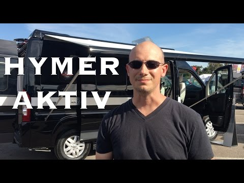 Hymer Aktiv 2017 Walk Through with EcoTrek Technology