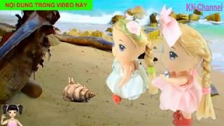 Thơ Nguyễn - Đồ chơi búp bê đi câu cá và gặp những con vật độc lạ