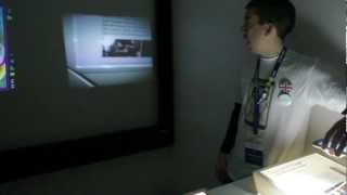 [MWC2012] - Samsung Galaxy Beam - PicoProjector Mobile