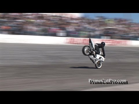 Longest Motorcycle Stoppie/Endo Ever!