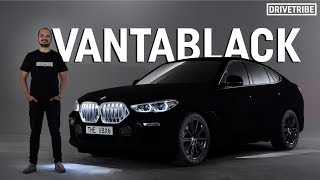 This Vantablack BMW is the darkest car in the world