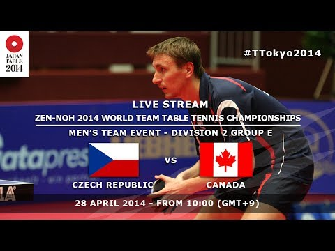 #TTokyo2014: Czech Republic - Canada