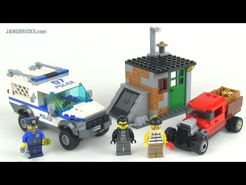 LEGO City 2014 Police Dog Unit set 60048 review!