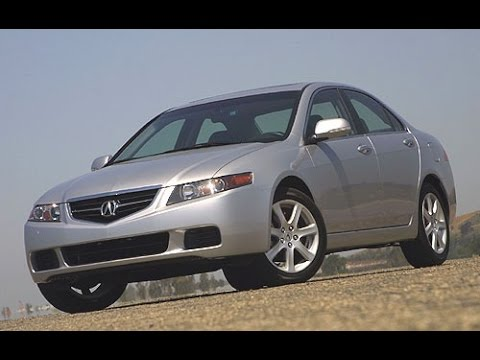 2005 Acura TSX Manual review