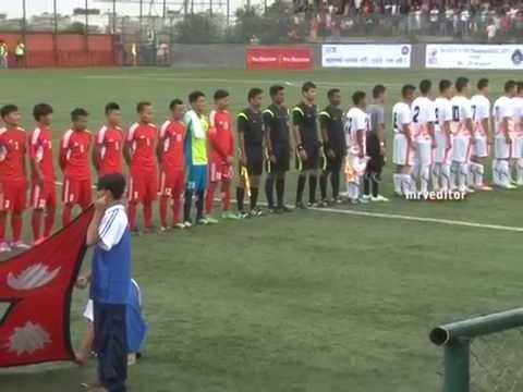 1st SAFF U19 Championship Nepal Vs Bhutan