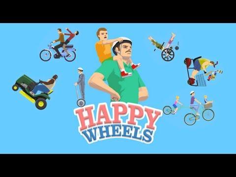 Happy Wheels|Demasiados sustos y peleas con gordas