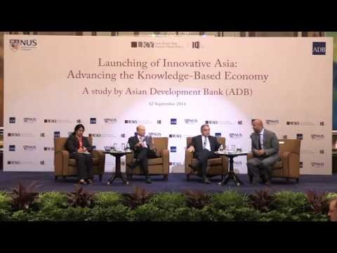 Launching of Innovation Asia: Advancing the Knowledge-Based Economy. A study by ADB