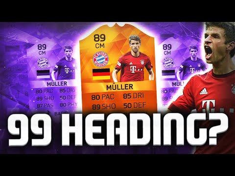 99 HEADING?? MOTM MULLER & IF COMAN!!! FIFA 16 ULTIMATE TEAM