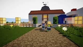 UPIN IPIN DI SUNAT!! - Minecraft Machinima