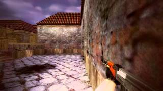 CS 1.6: m1sh0 vs 2 inferno best action ever :D