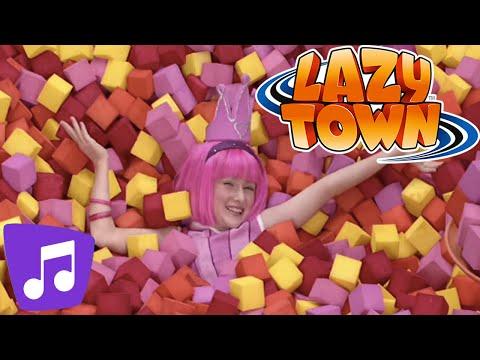 Bing Bang Song   LazyTown Music Video