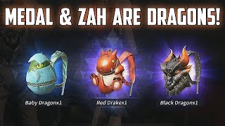 MEDAL & ZAH ARE DRAGONS! - Rules of Survival Livestream