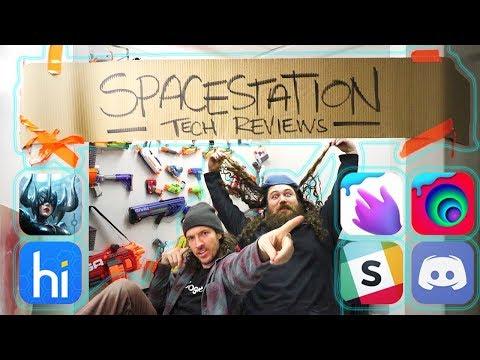 SPACESTATION TECH REVIEWS!!  wait wut?