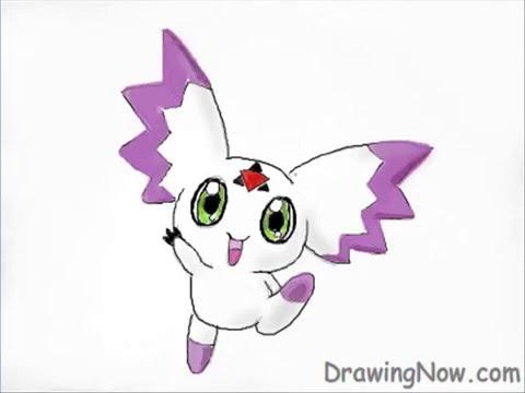 Digimon Calumon How to Draw Digimon Calumon