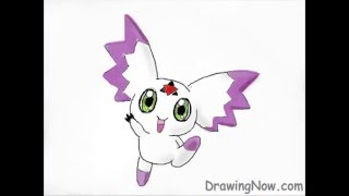 How To Draw Digimon - Calumon