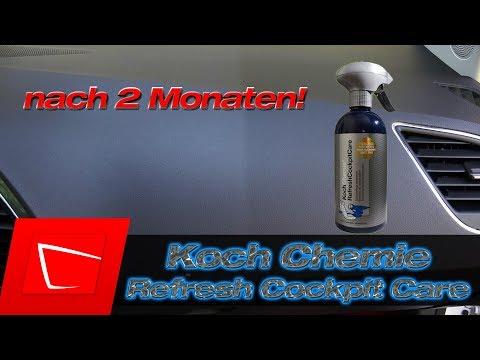 Koch Chemie Refresh Cockpit Care nach 2 Monaten - Top Ergebnis Kunststoff reinigen und auffrischen