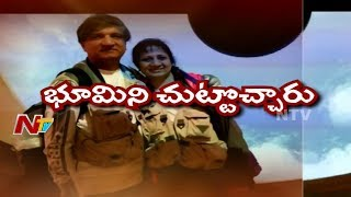 Hyderabadi Couple Drive All Way From America to Hyderabad | Special Focus | NTV