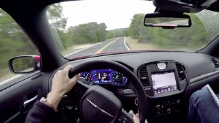 2015 Chrysler 300S - WR TV POV Canyon Drive