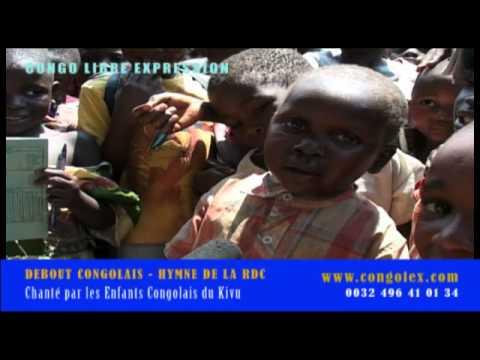 Debout Congolais chanté par des enfants congolais du Kivu