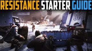 The Division | Resistance Tutorial | Get to Higher Waves Easier