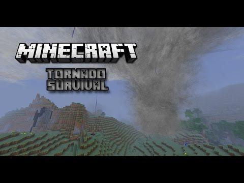 Minecraft Tornado Survival ~ Season 1, Episode 2 (Cyclone!)
