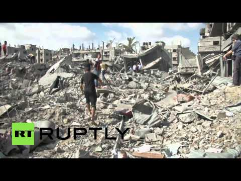 State of Palestine: Gaza devastated and in ruins