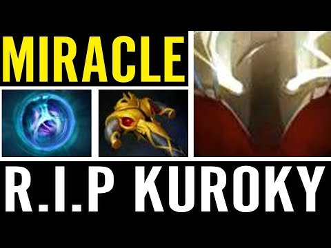 Pro Carry Sven by MIRACLE vs KUROKY Tiny Captain Dota 2 Gameplay