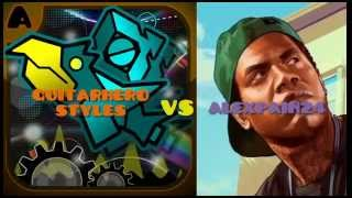 GuitarHero Styles vs Alexpain24- Geometry Dash = )