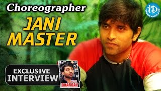Choreographer Jani Master Exclusive Interview    Talking Movies With iDream #58
