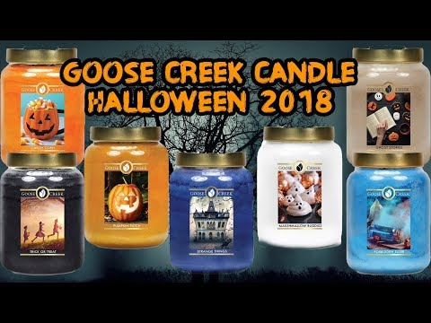 NEW Goose Creek Candle HALLOWEEN 2018 | Candy Corn | Trick or Treat