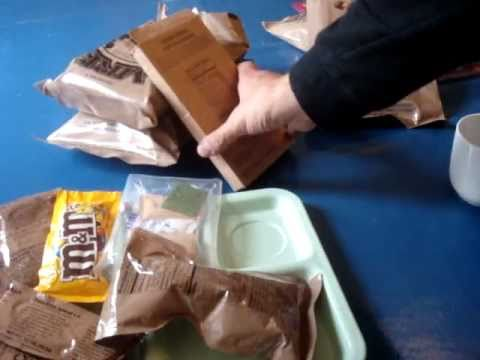 MRE Review: Menu No.6 Chicken With Noodles (To Commemorate Judgment Day/The Rapture!)