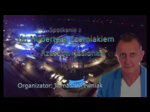 Spotkanie Z Dr Hubertem Czerniakiem Rzeszów -Jasionka 17.03.2018