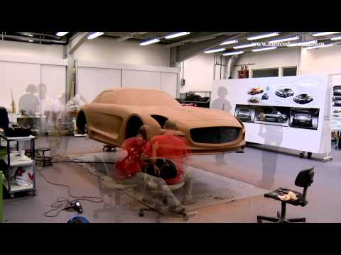 SLS AMG Coupé Black Series Design Story: Clay Model