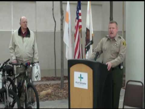 Bike Donation to Lancaster Sheriff Station
