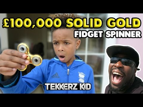 $130,000 SOLID ARAB GOLD FIDGET SPINNER PRANK FAIL!!