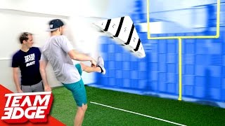 GIANT Finger Football Challenge!!