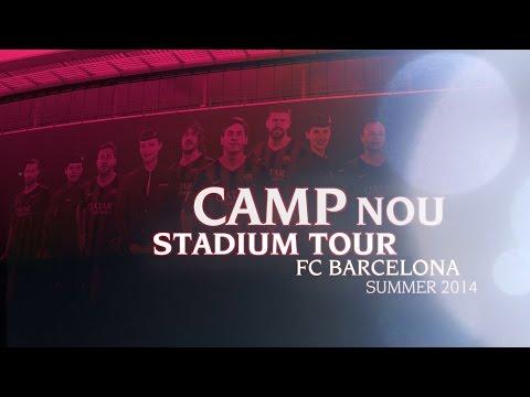FC Barcelona Nou Camp Stadium & Museum Tour - Summer 2014