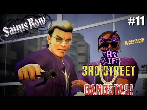 "THE GANG RIDING FOR JOHNNY! ( FUNNY ""SAINTS ROW"" GAMEPLAY #11"