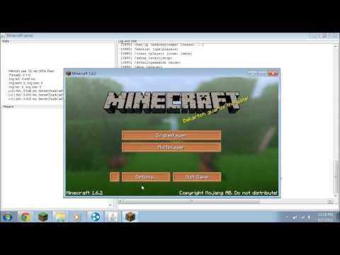 How To Make Your Own Minecraft Server/Join With Hamachi (1.11.2)
