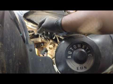 2006 Polaris 700 Sportsman Spark Plug replacement