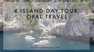 4 Island day tour by Opal Travel