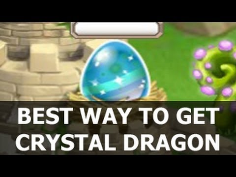 BEST WAY to Get Dragon City CRYSTAL DRAGON Breeding Guide How to Get it with Armadillo and Cool Fire