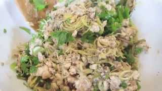 Lao Food - How to Make Koy Pa