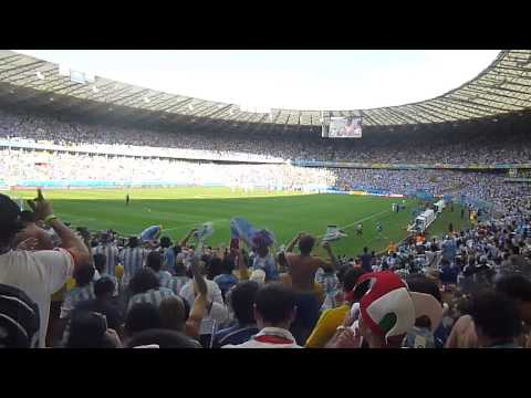 Gol de Messi - Copa del Mundo - Argentina 1 Irán 0 + Brasil decime que se siente.