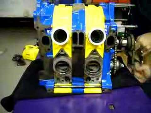 Peripheral Port 12A Rotary Turning Over (Long) - YouTube