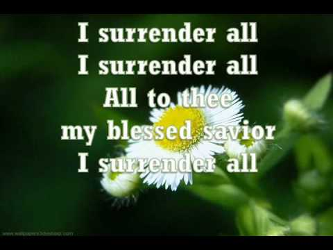 All To Jesus I Surrender (robin Mark) video