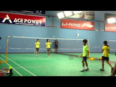 The badminton grip